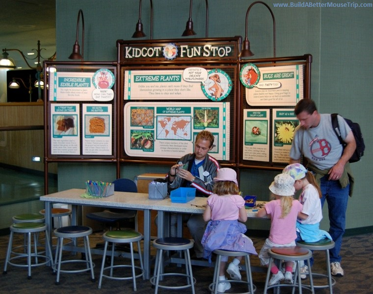 Epcot Kidcot Station