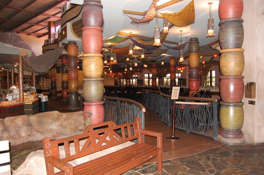 Boma - A wonderful Buffet restaurant serving breakfast and dinner at Disney's Animal Kingdom Lodge reort.