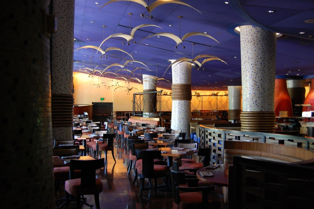 Jiko - the cooking place: A signature dining location at Disney's Animal Kingdom Lodge.