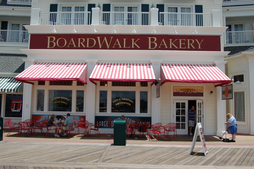 Disney's Boardwalk Bakery is a great place to pick up a breakfast pastry or sweet treat.