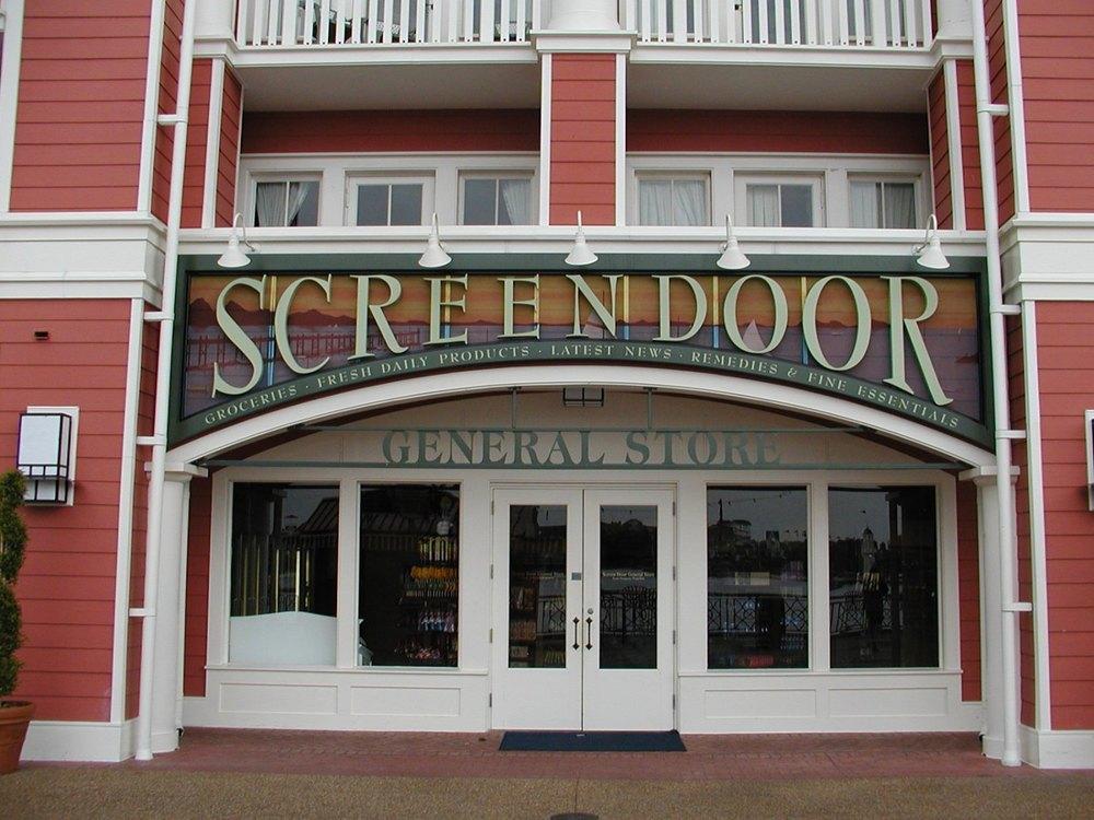 Disney's Boardwalk Screen Door General Store