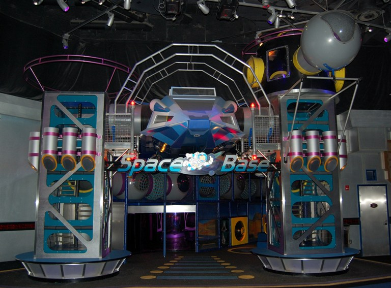 Space Base play structure for kids at Mission Space - Epcot