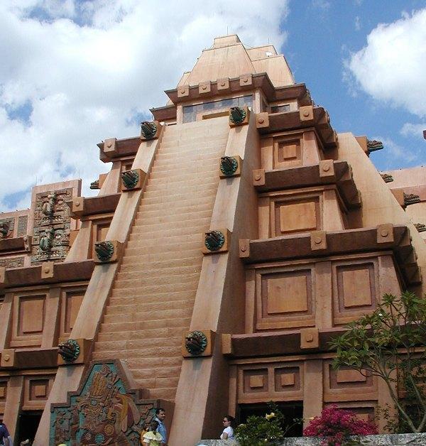 Mexico Pavilion in the World Showcase at Epcot - Disneyworld