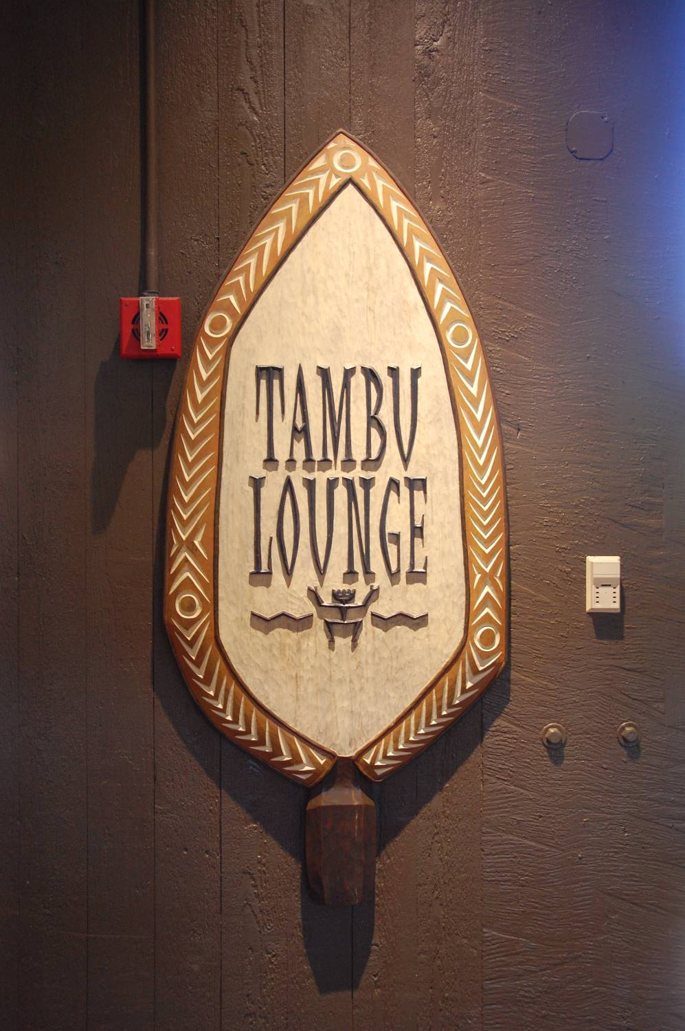 Tambu Lounge at Disney's Polynesian Village Resort & Villas - Disney World, Florida.