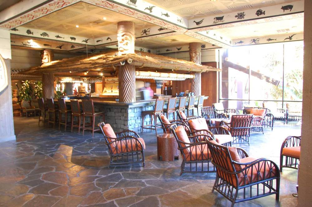Tambu Lounge at Disney's Polynesian Village Resort in Florida.