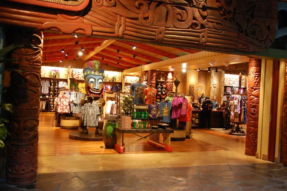 Get gifts, clothing & Disney merchandise at Boutiki / Disney's Polynesian Village Resort