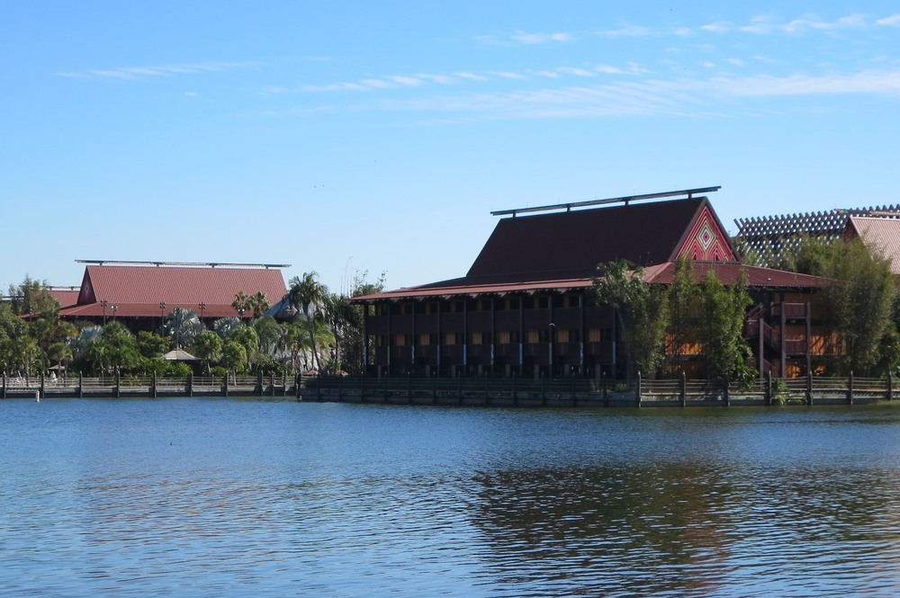 Disney's Polynesian Village Resort - Hotel rooms are in longhouses.