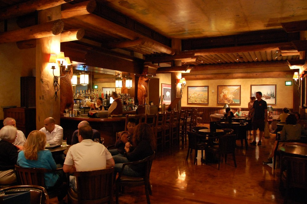 Territory Lounge at the Wilderness Lodge