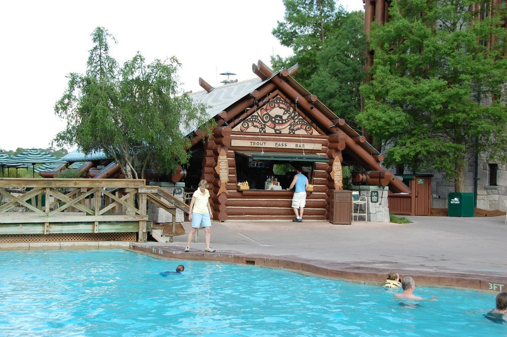Trout Pass Pool Bar at Disney's Wilderness Lodge Resort / Disney World