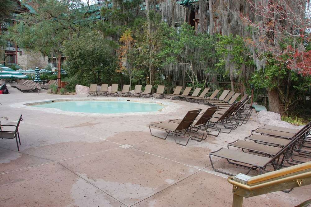 Disney's Wilderness Lodge Wading Pool