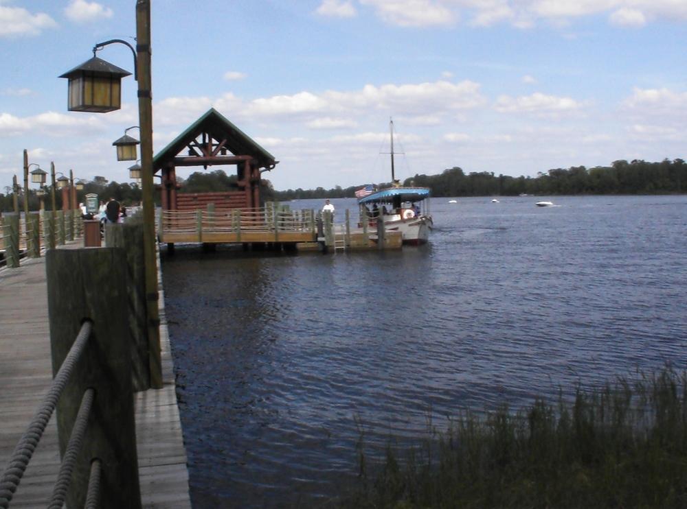 Disney's Wilderness Lodge Boat Transportation