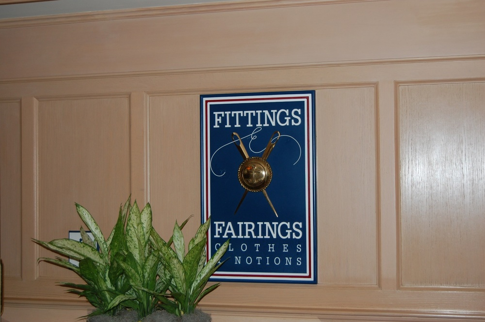 Disney's Yacht Club Fittings and Fairings