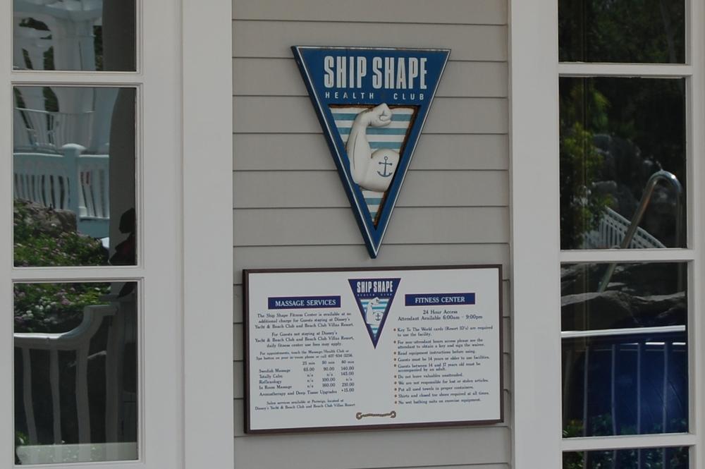 Ship Shape fitness center