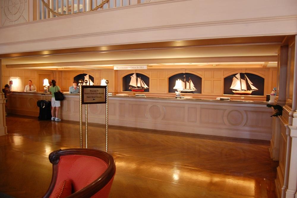 Yacht Club Registration Desk