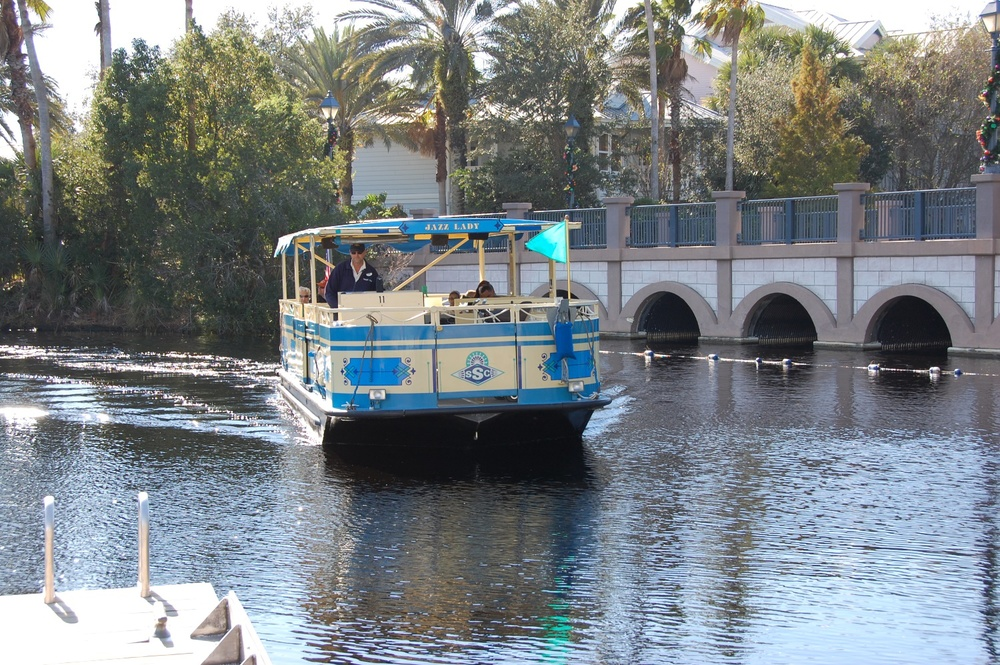 Disney's Old Key West Boat Transportation