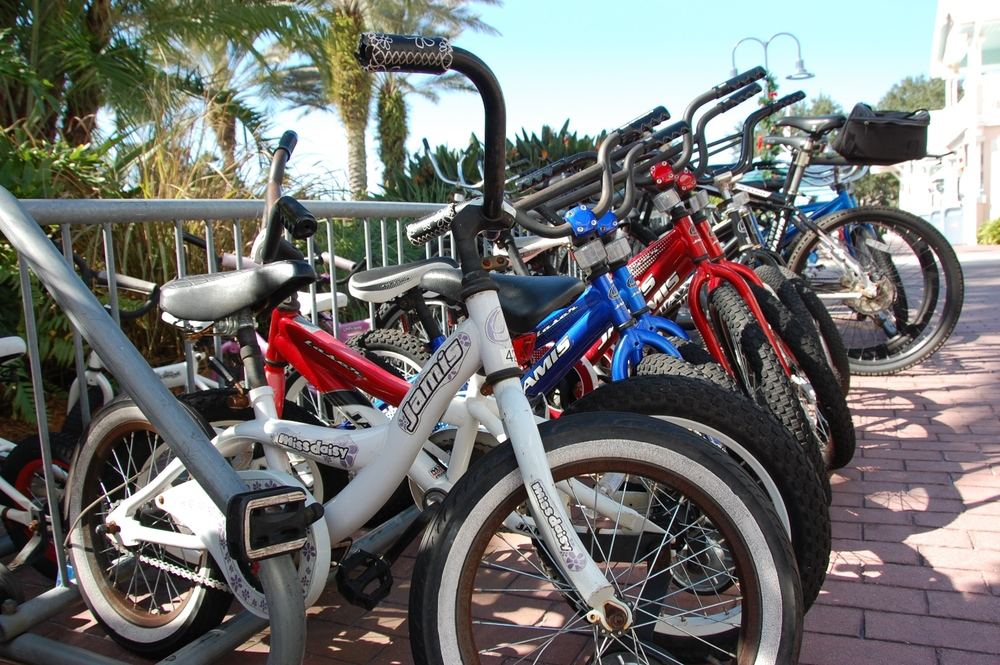 Bike rental is one of the many Disney Vacation Club amenities at Disney's Old Key West