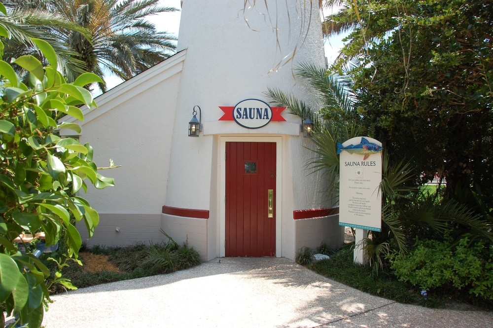 Old Key West Lighthouse Sauna