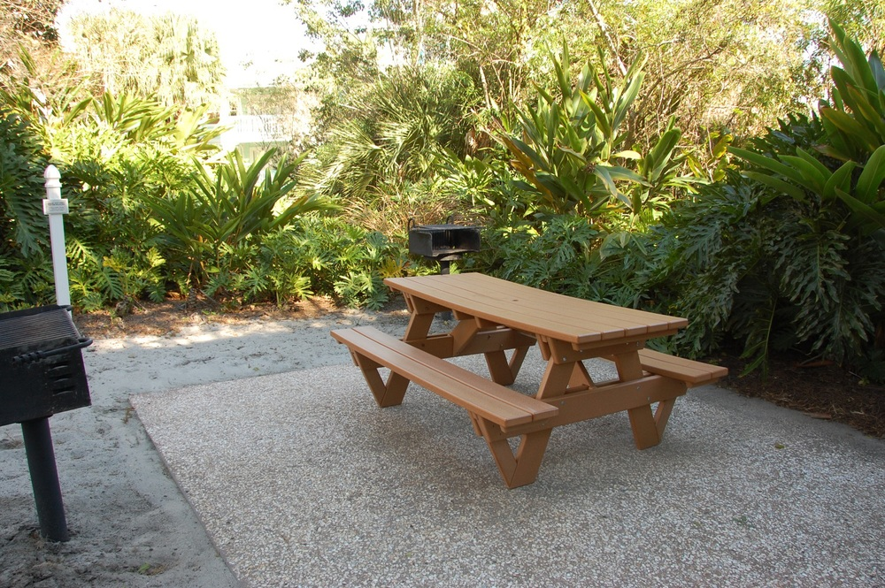 Old Key West Picnic Table