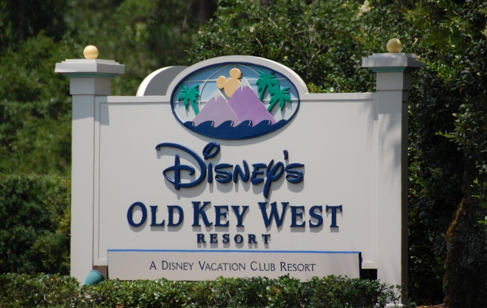 Old Key West Resort Sign