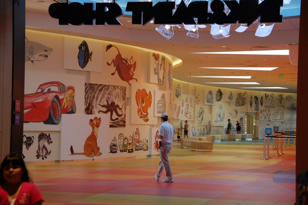 Art of Animation Lobby Mural