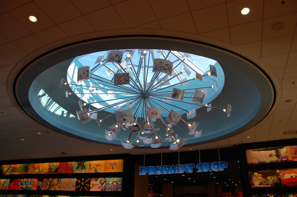 Art of Animation Skylight plates