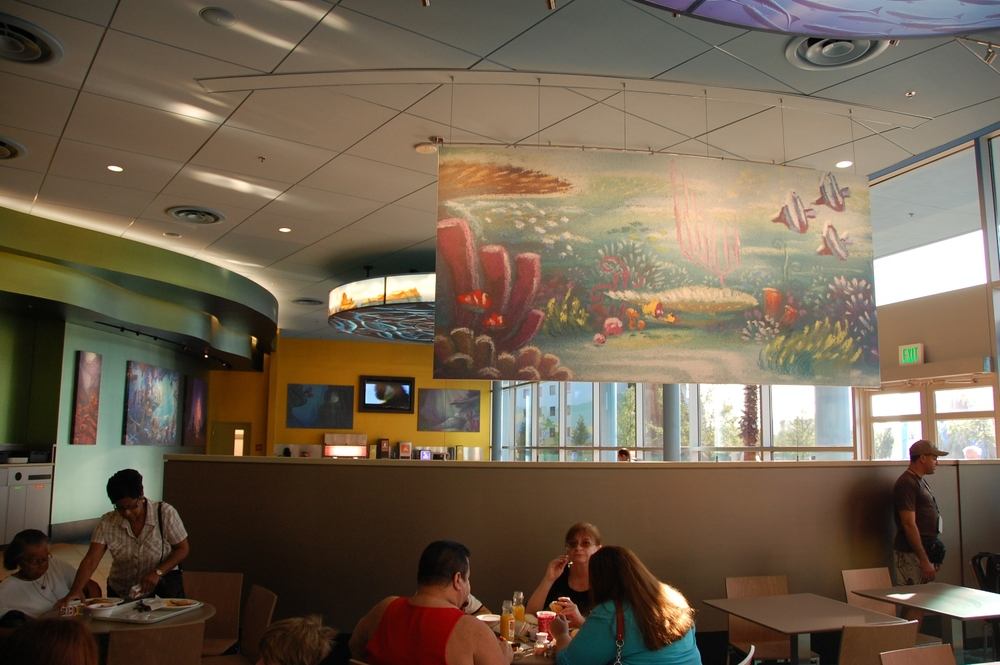 Landscape of Flavors Finding Nemo Seating Area