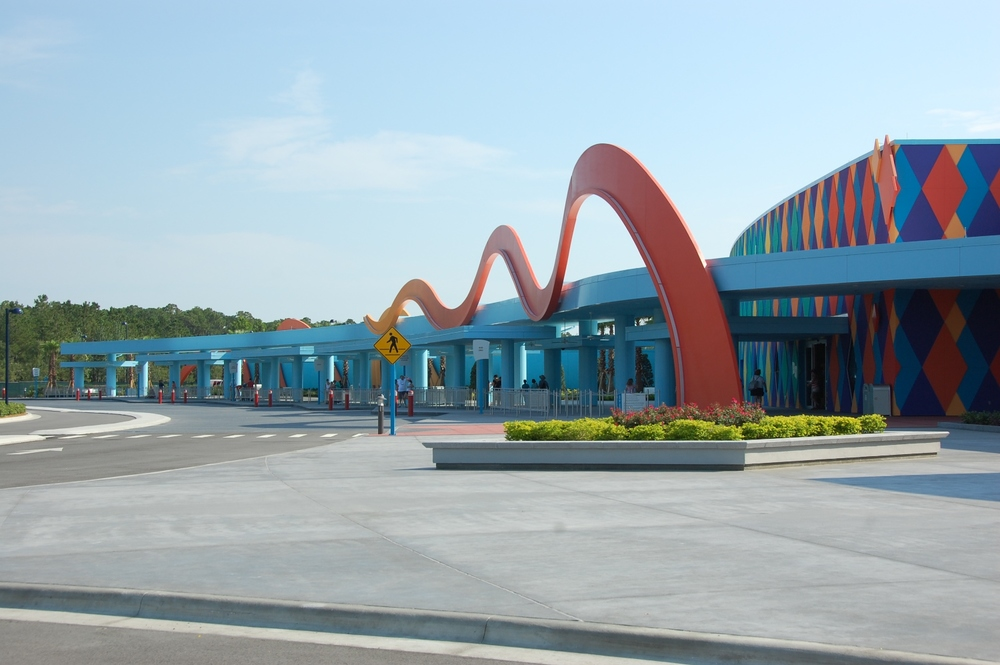 Disney's Art of Animation Resort Bus Stop