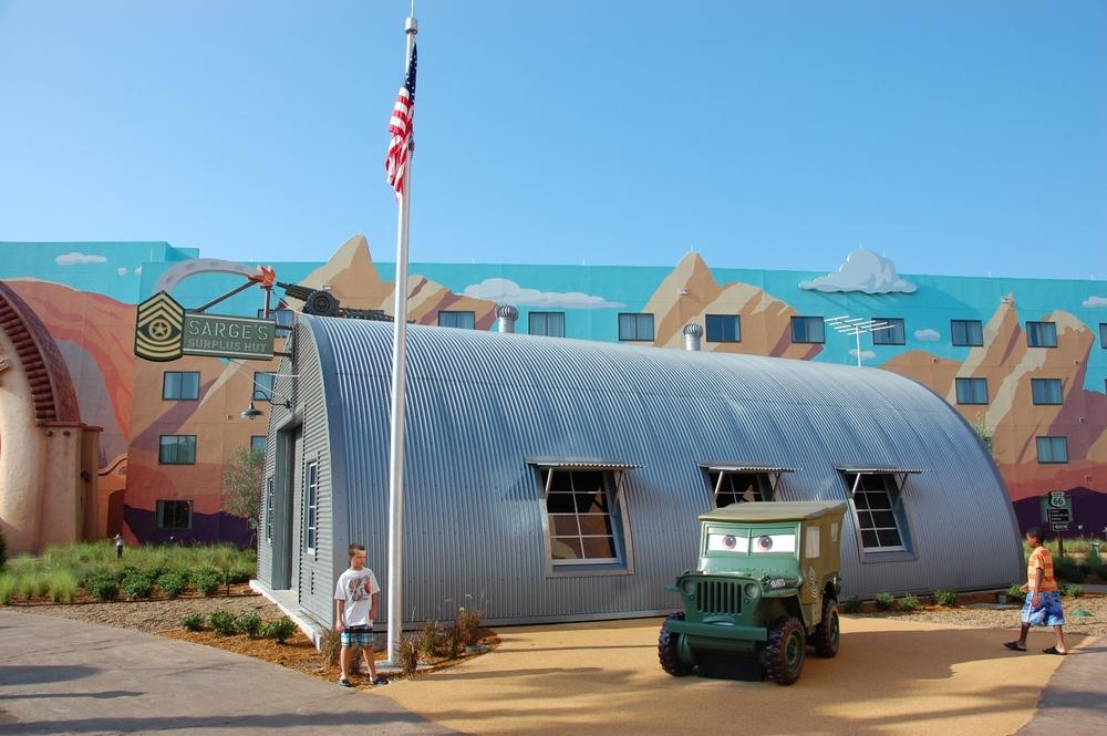 Art of Animation Sarge's Surplus Hut