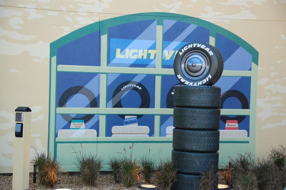 Art of Animation Luigi's House of Tires