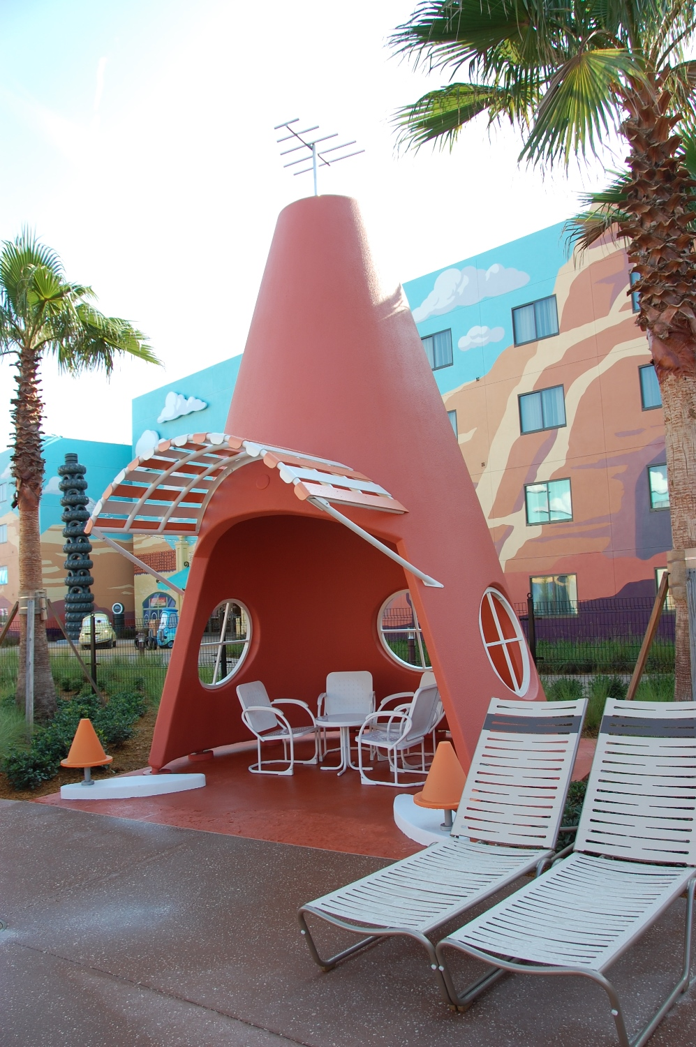 Art of Animation Cozy Cone Cabana