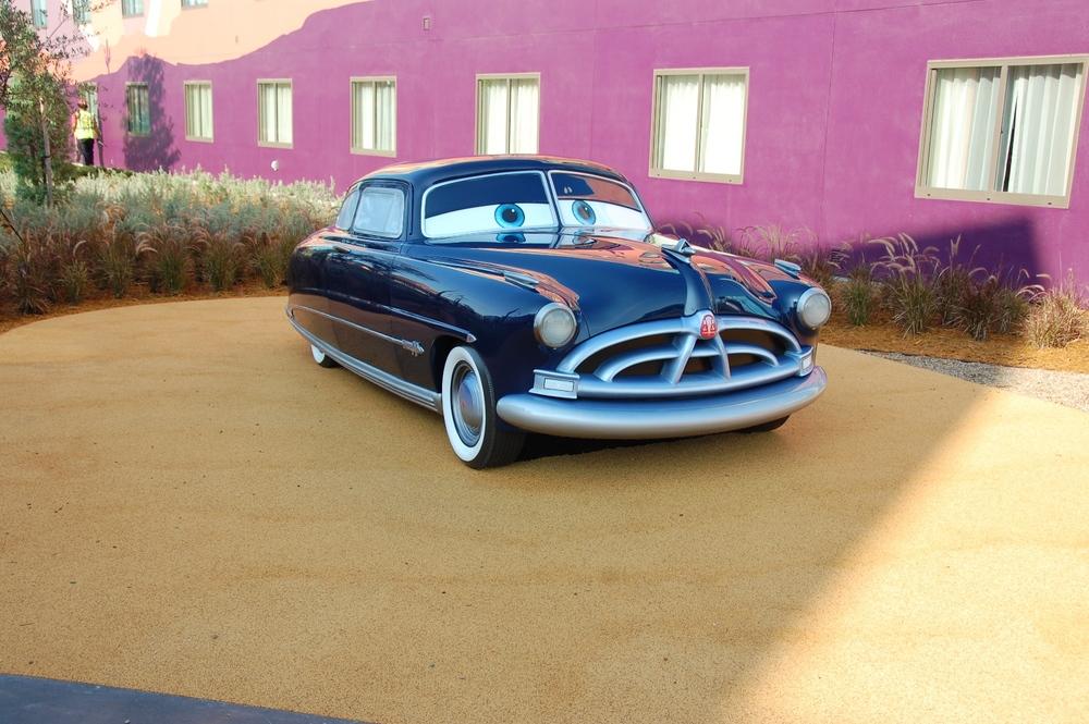 Art of Animation Cars Doc Hudson