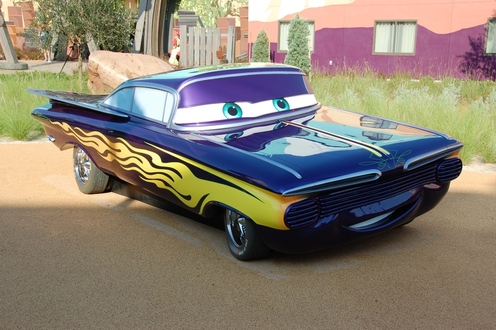 Art of Animation Cars Ramone
