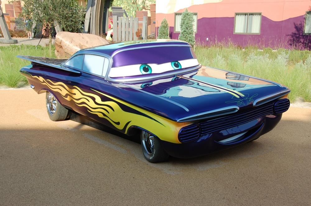 Art of Animation Cars Ramone