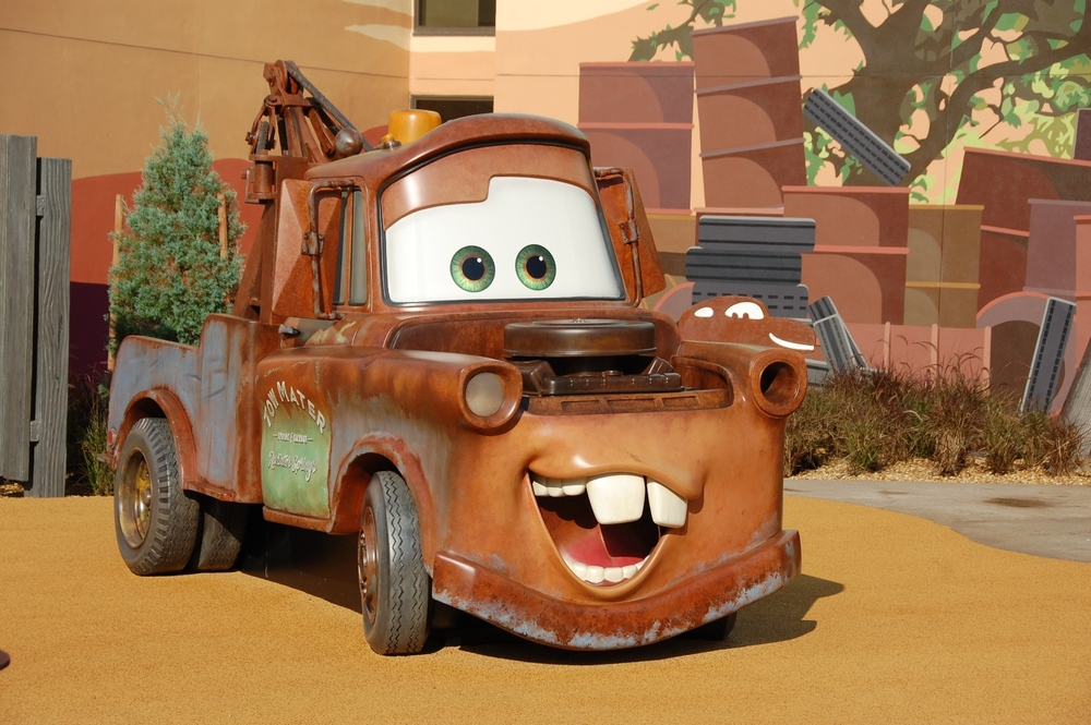 Art of Animation Cars Mater