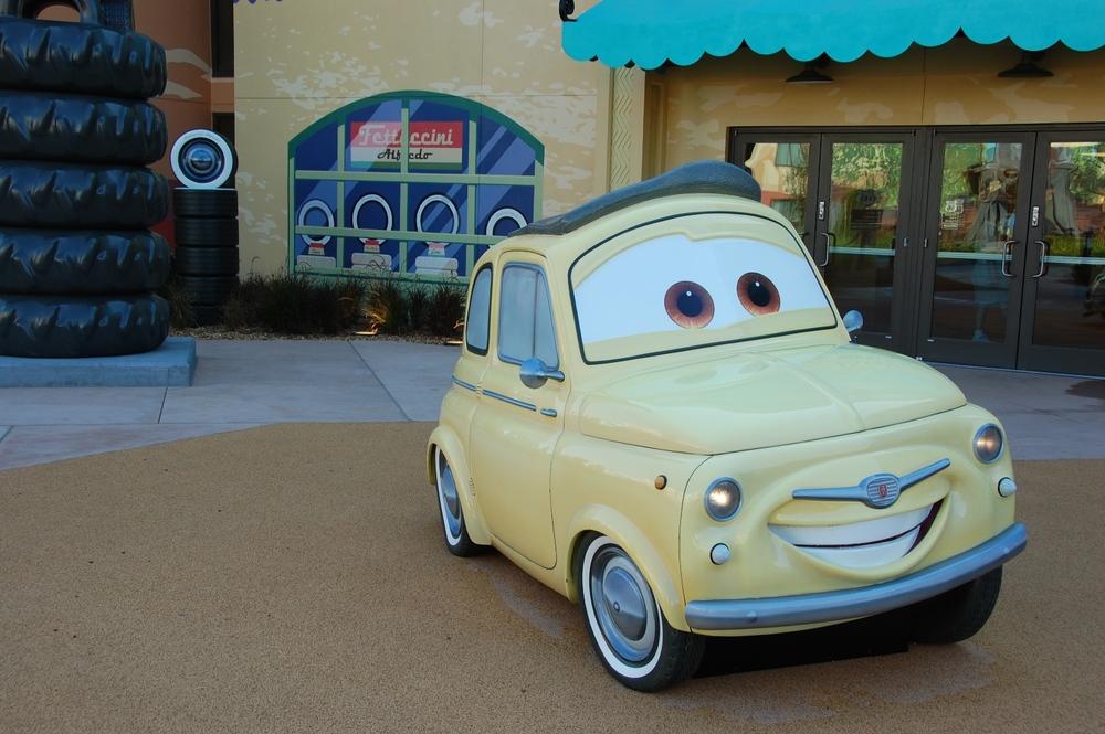 Art of Animation Cars Luigi
