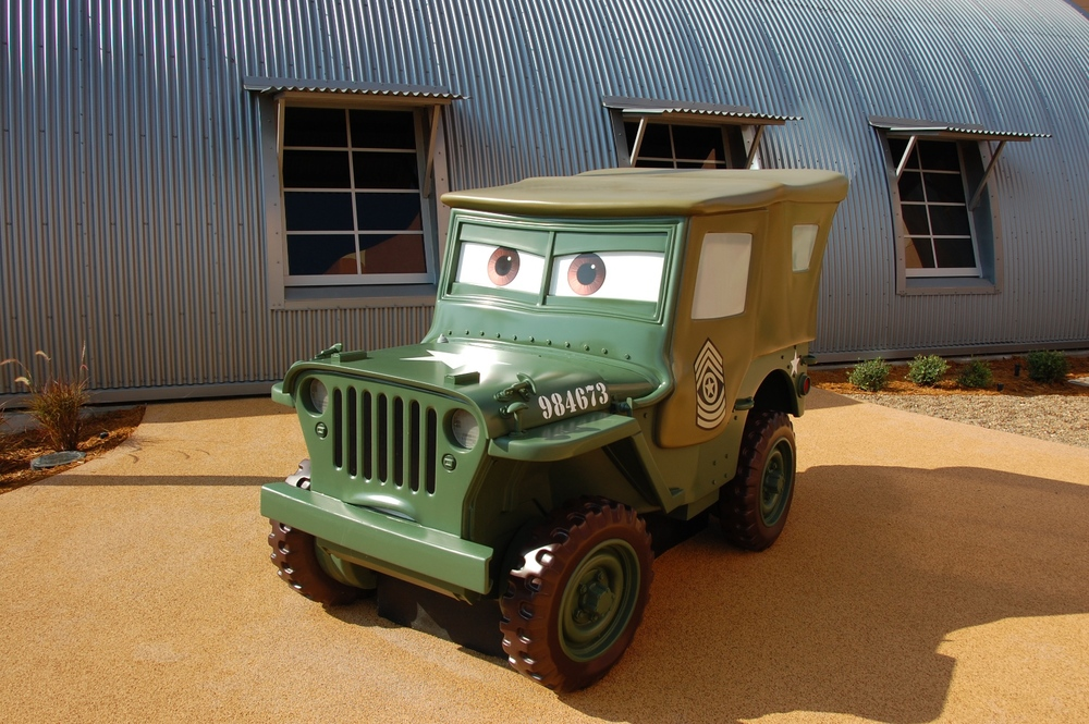 Art of Animation Cars Sarge