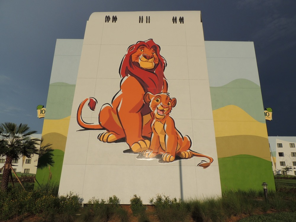 Art of Animation Lion King Stairs