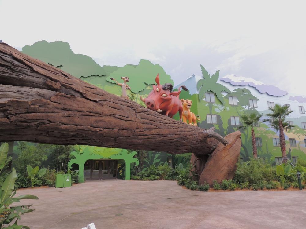 Art of Animation Lion King Pumba, Timone and Simba