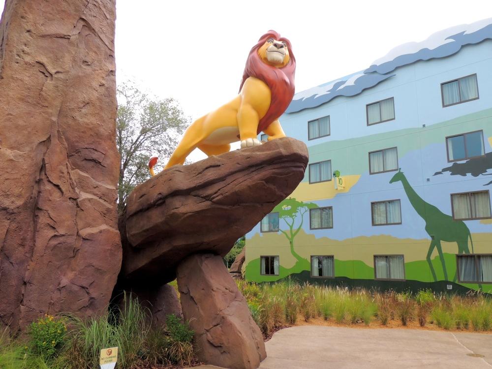 Art of Animation Lion King Mufasa