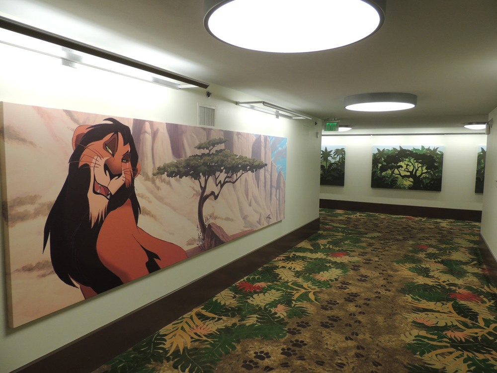 Art of Animation Lion King Building