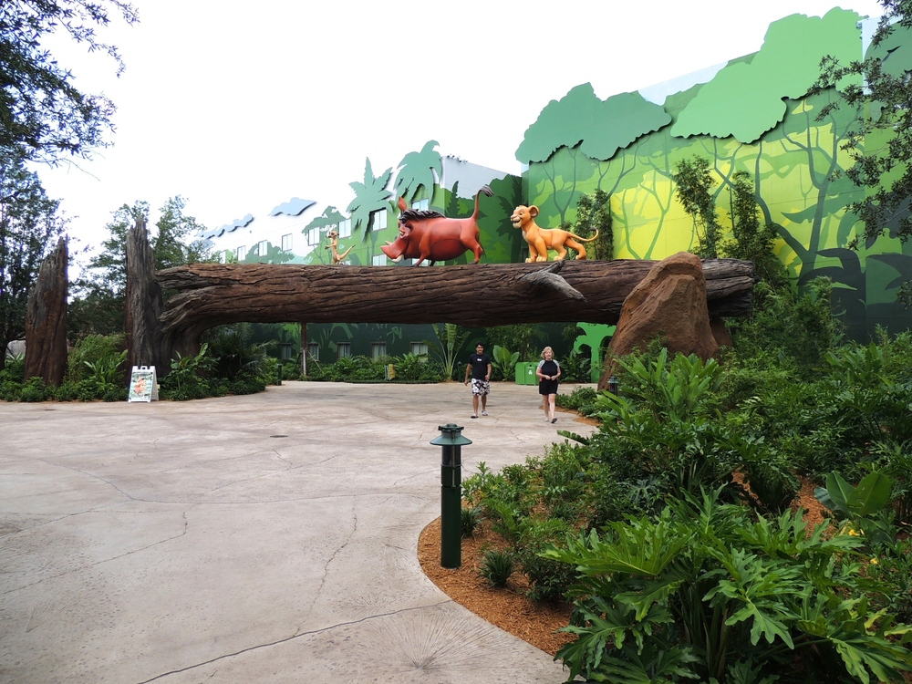 Art of Animation Lion King Courtyard