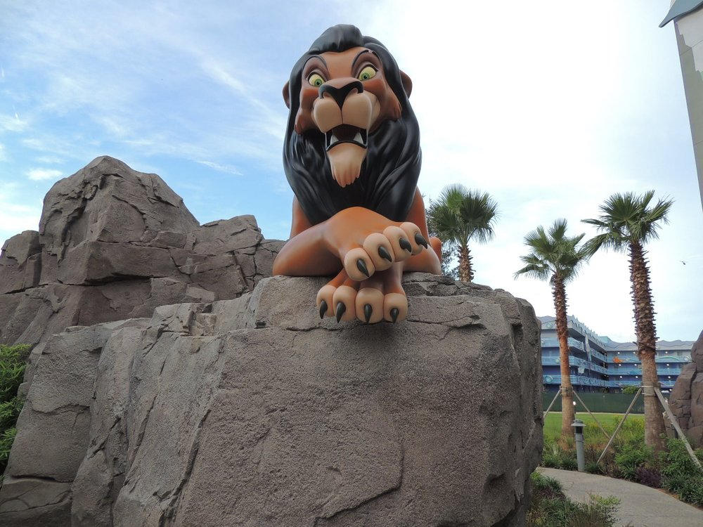 Art of Animation Lion King Scar