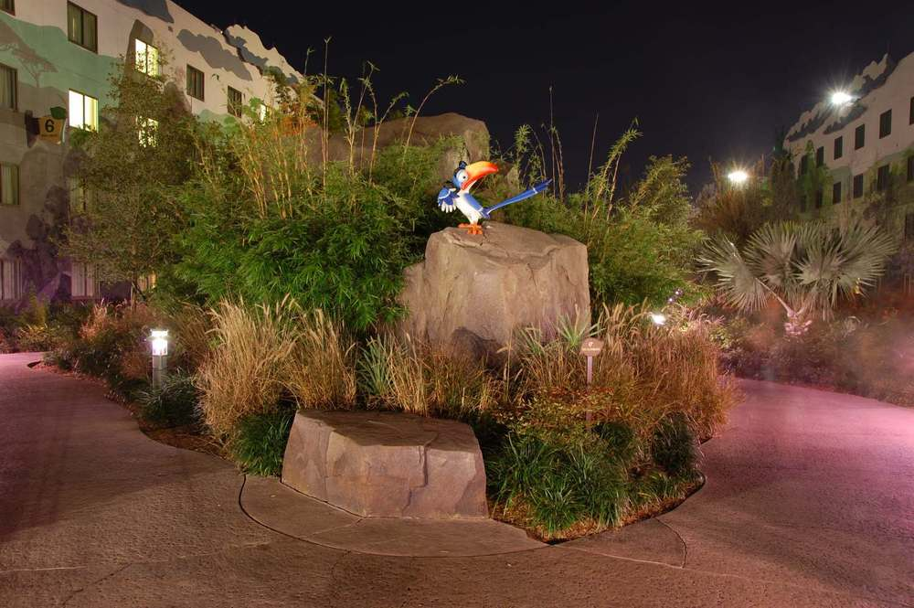 Art of Animation Lion King Zazu at night
