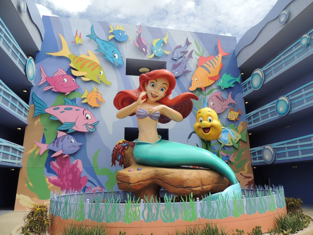 Art of Animation Little Mermaid Ariel