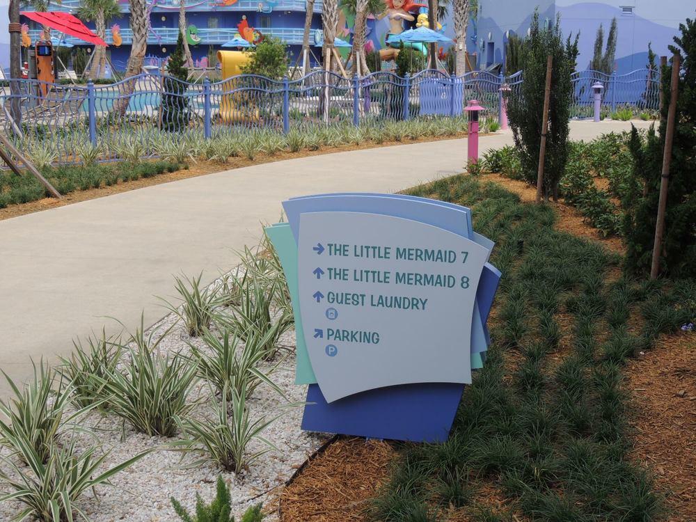 Art of Animation Little Mermaid Courtyard