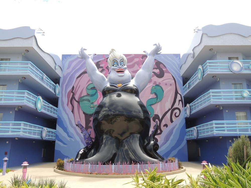 Art of Animation Little Mermaid Ursula