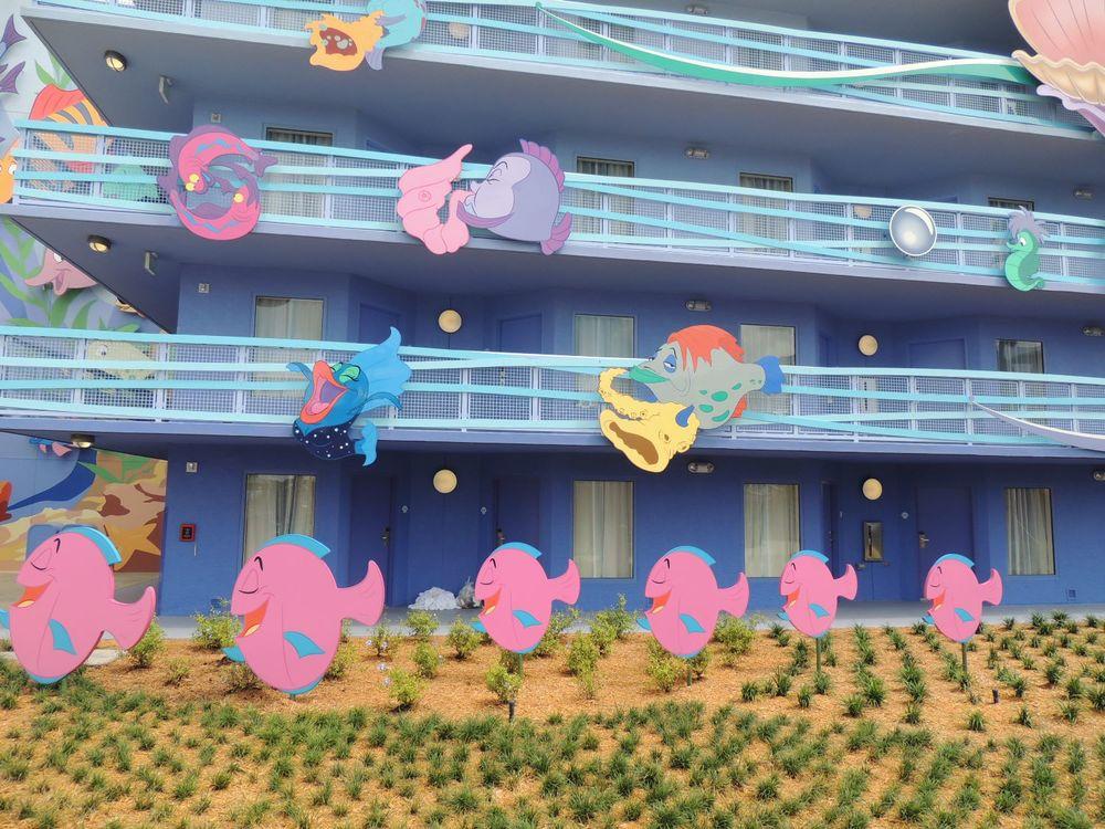 Art of Animation Little Mermaid Building