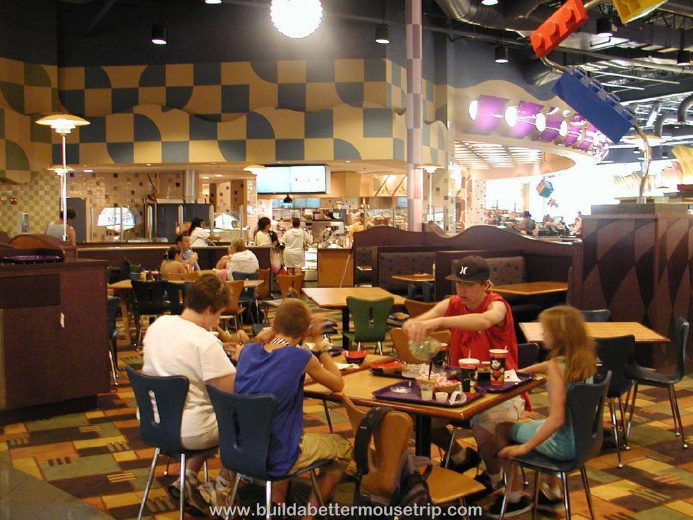 Pop Century Everything Pop Food Court Seating