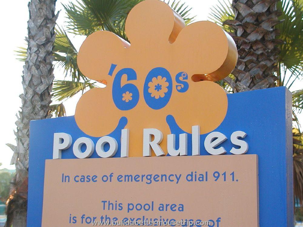 Pop Century Hippy Dippy Pool Rules