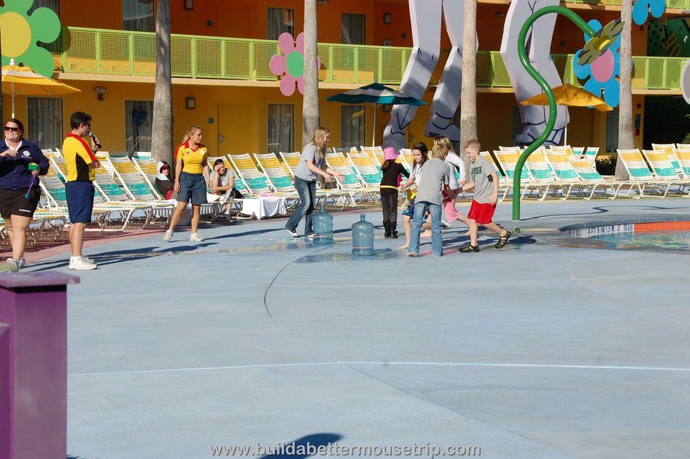Pop Century Poolside Activities
